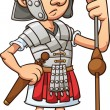 Roman soldier — Stock Vector #18532417
