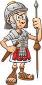 Roman soldier — Stock Vector