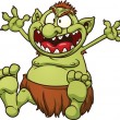 Royalty-Free Stock Vector Image: Fat troll
