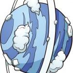 Cartoon Uranus — Stock Vector #26434445