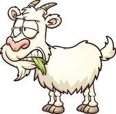 Cartoon goat — Stock Vector