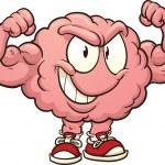 Strong brain — Stock Vector