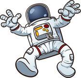 Astronaut clip art — Stok Vektör