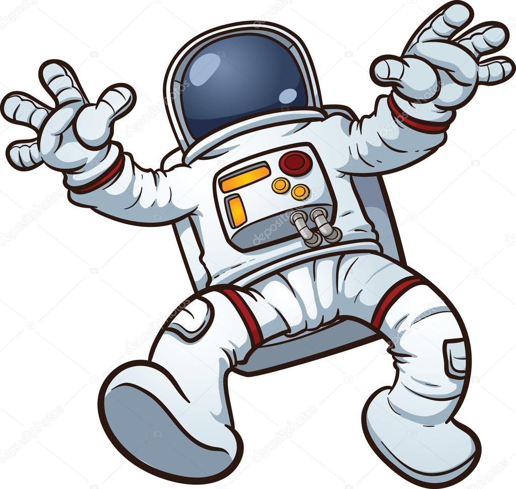 Astronaut clip art — Stock Vector #34324117