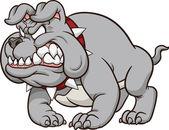 Bulldog mascot — Stock Vector