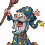 Cartoon wizard — Stock Vector #45663901