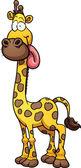 卡通长颈鹿 — 图库矢量图片
