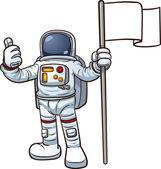 卡通宇航员 — 图库矢量图片