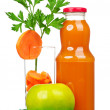 Carrot juice — Stock Photo #14764141