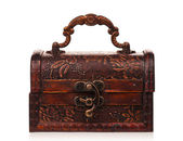 Wooden chest — Foto Stock