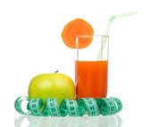 Carrot juice — Стоковое фото