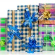Stock Photo: Holiday gifts