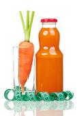 Jus de carotte — Photo