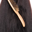 Royalty-Free Stock Photo: Wooden hairbrush