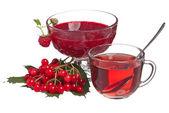 Crimson tea — Stock Photo