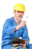 Yetişkin işçi — Stok fotoğraf