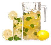 Glas limonade — Stockfoto