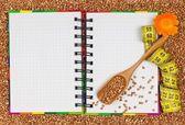 Buckwheat diet — Stock Photo
