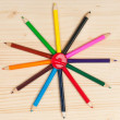 Colorful pencils — Stock Photo #28894591