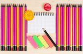 Crayons lumineux — Photo