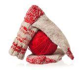 Knitted socks — Foto de Stock