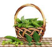 Peas pods — Stock Photo