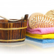 Bathing accessories — Stock Photo #44656395