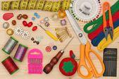 Accesorios de costura — Foto de Stock