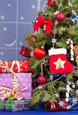 クリスマスのトウヒ — ストック写真