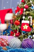 Vánoční smrk — Stock fotografie