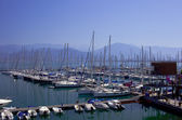 Sea port of Marina bay in Fethiye, Turkey — Stock Photo