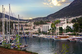 Sea port in Kalkan, Turkey — Stock Photo