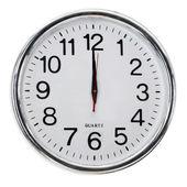 Zegar ścienny biuro — Zdjęcie stockowe