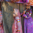 India Kerala Traditional dolls shop — Stock Photo