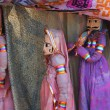 India Kerala Traditional dolls shop - Stock Photo