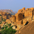 India Karnataka Hampi Roks Landscape — Stock Photo