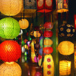 Shop Chinese lanterns — Stock Photo
