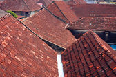 Tile roofs in Fort Cochin - India — Stock Photo