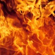 Fire Background - burning flame languages — Stock Photo #37238753