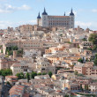 Old Toledo town view, Spain — Stock Photo #12132059