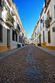 Street in old town, Cordoba, Spain — Stock fotografie