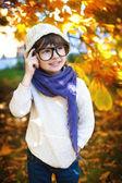 快乐的孩子的肖像 — 图库照片