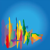 Abstract colorful background Vector. — Stock Vector