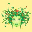 Royalty-Free Stock Vector Image: Vector Mother Nature