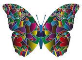 矢量蝴蝶 — 图库矢量图片