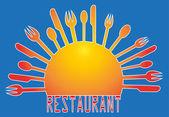 Vector Illustration for restaurants — Stock Vector