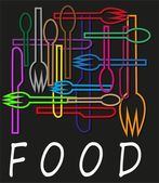 Logo for restaurant — Stock Vector