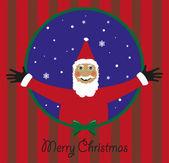 Vector Santa Claus — Vector de stock