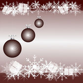 Frohe weihnachten und guten rutsch ins neue jahr — Stockvektor