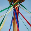 Maypole unfurling — Stock Photo